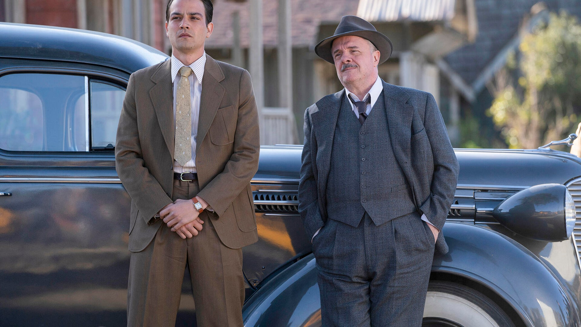 Daniel Zovatto and Nathan Lane, Penny Dreadful: City of Angels