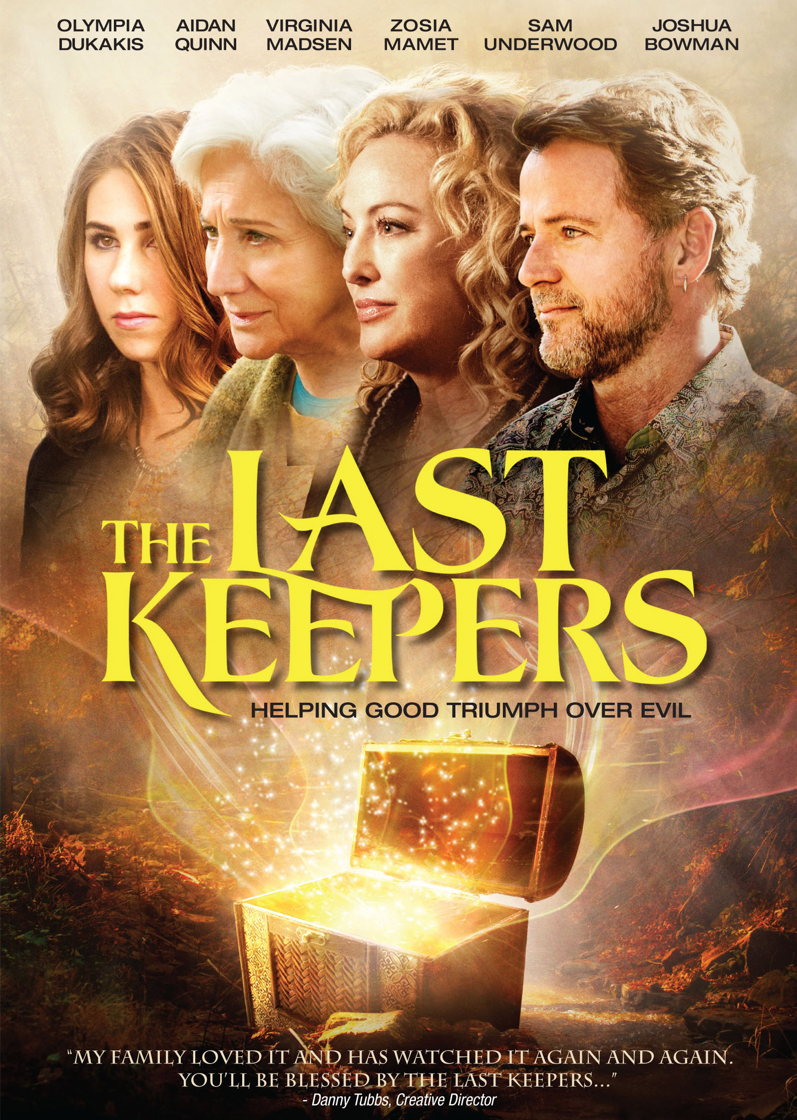 The Last Keepers as Abigail Carver