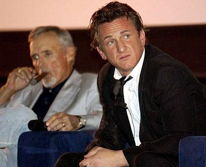 "Dennis Hopper and Sean Penn - The 2004 CineVegas Film Festival ""The Indian Runner"" Q&A in Las Vegas, June 18, 2004"
