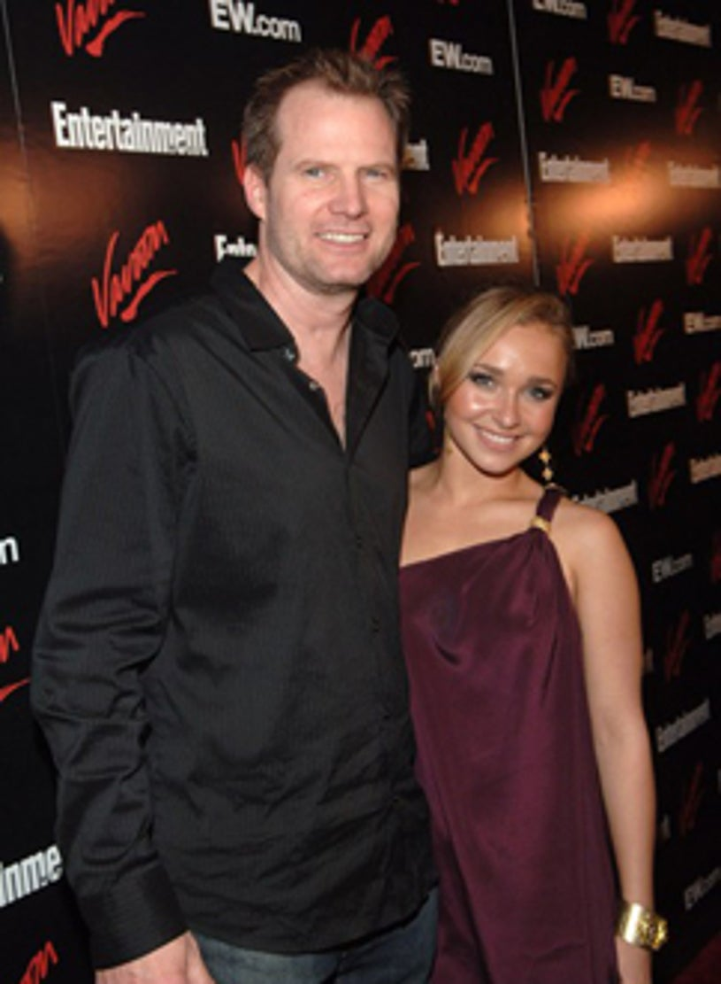 Jack Coleman and Hayden Panettiere - Upfront Party, May 2007