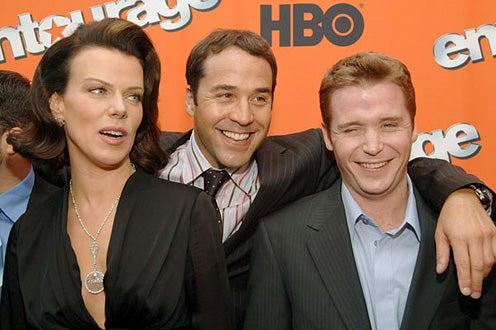 "Debi Mazar, Jeremy Piven and Kevin Connolly - HBO's ""Entourage"" Season 2 New York City Premiere"