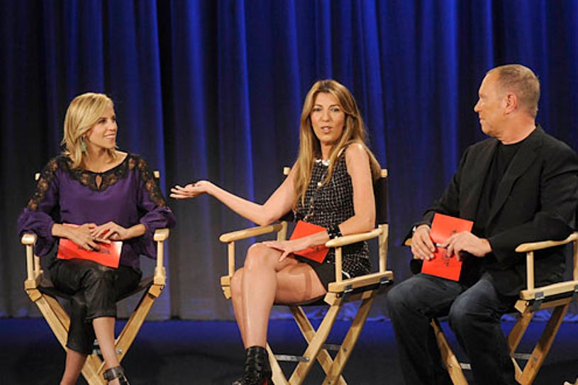 Project Runway - Season 7 - Episode 6: A Little Bit of Fashion - Designer Tory Burch joins the judging panel with Nina Garcia and Michael Kors