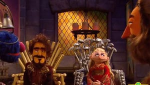 """VIDEO: Who Will Win the """"Game of Chairs"""" in Sesame Street's Game of Thrones Parody?"""