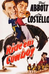Ride 'em Cowboy as Sam Shaw