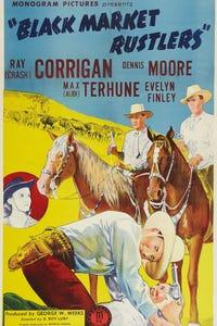 Black Market Rustlers as Cowhand