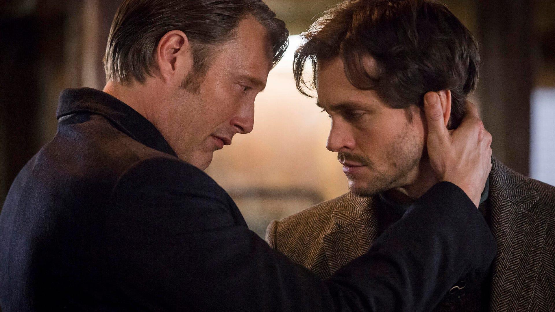 Mads Mikkelson and Hugh Dancy, Hannibal