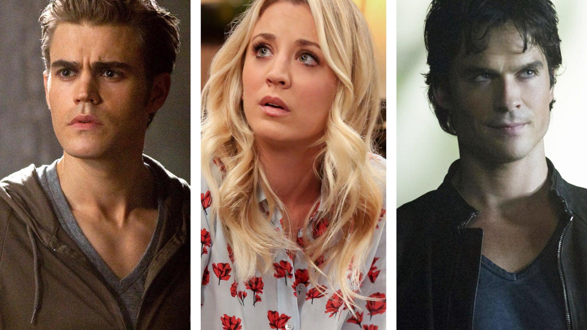 Paul Wesley, The Vampire Diaries, Kaley Cuoco, The Big Bang Theory, Ian Somerhalder, The Vampire Diaries