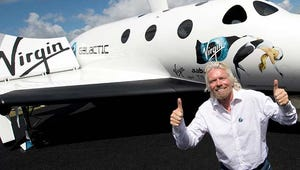 Today to Broadcast Virgin Galactic's First Commercial Spaceflight