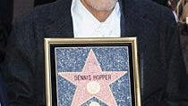 Dennis Hopper Receives Hollywood Walk of Fame Star