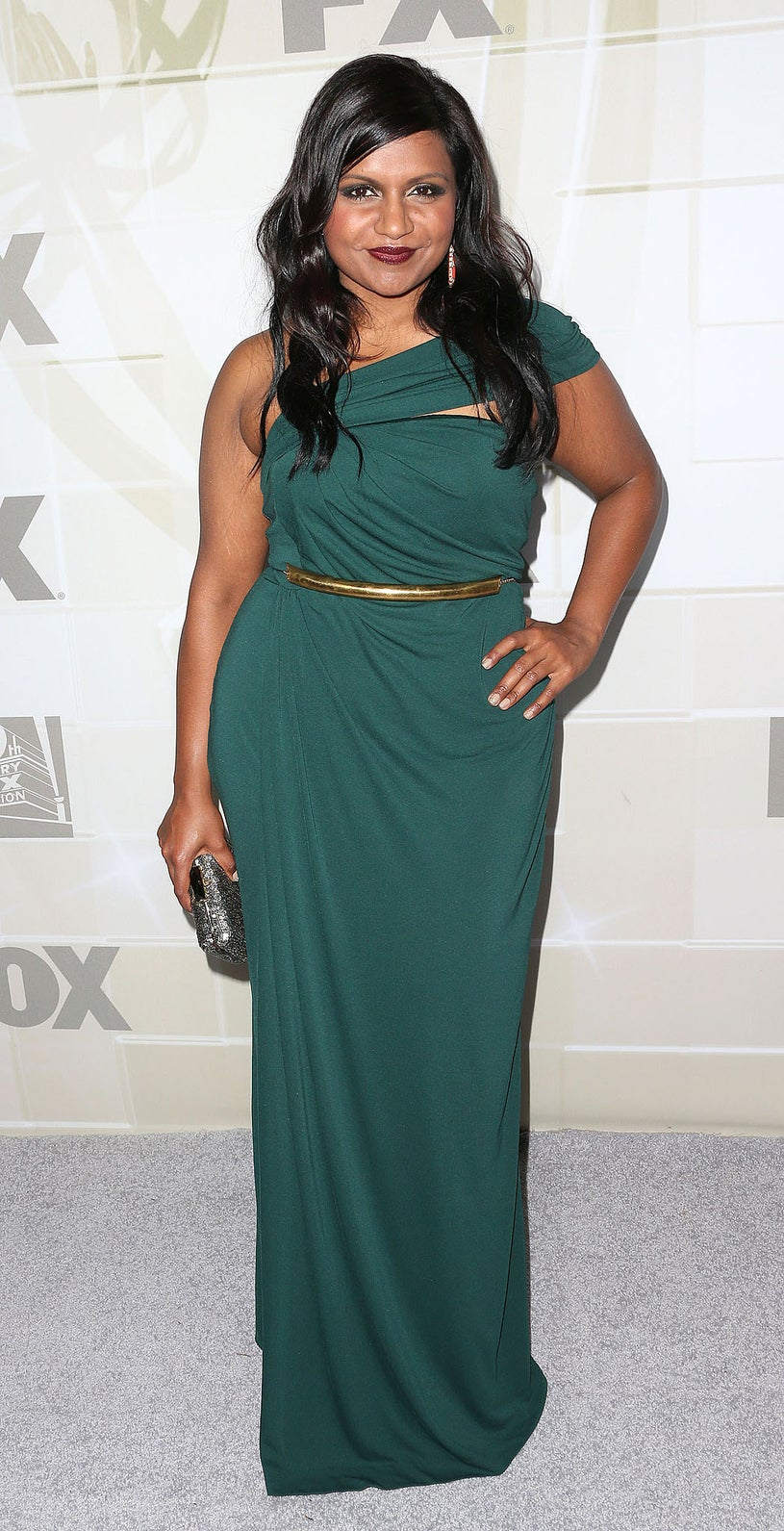 Mindy Kaling -  Fox Broadcasting Company, 20th Century Fox and FX Celebrates Their 2012 Emmy Nominees in Los Angeles, September 23, 2012