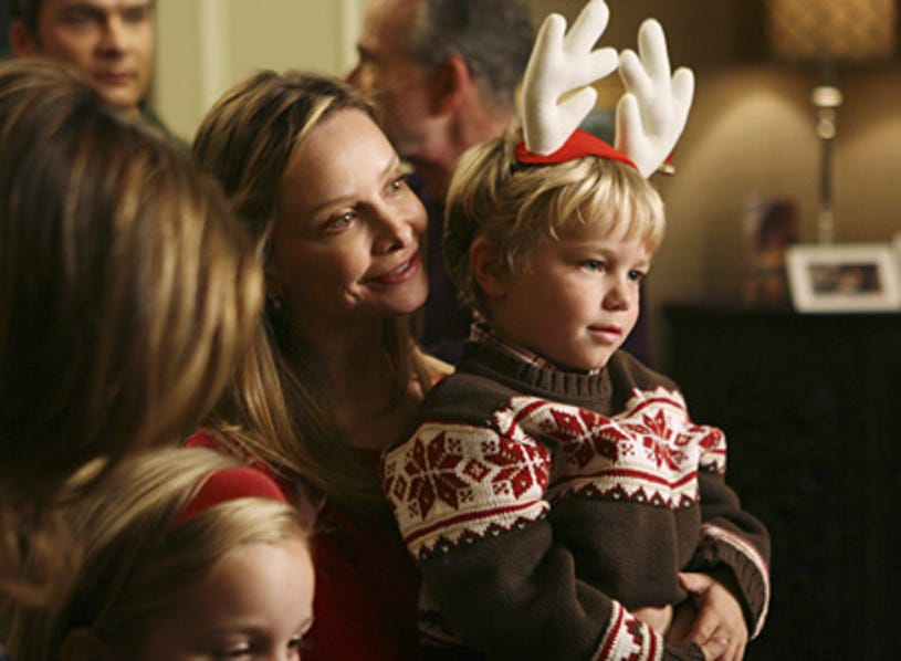 """Brothers & Sisters - """"Light the Lights"""" - Calista Flockhart as Kitty, Maxwell Perry Cotton as Cooper"""