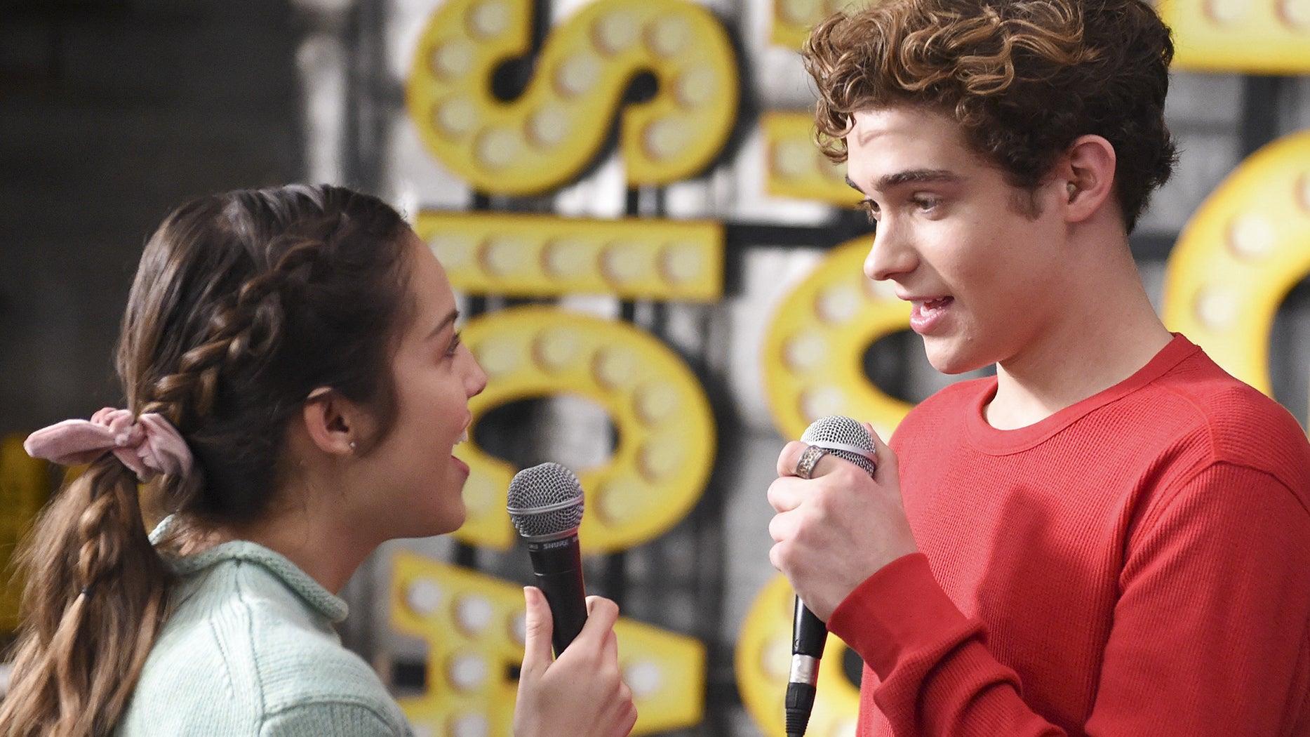 Olivia Rodrigo and Joshua Bassett, High School Musical: The Musical: The Series