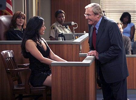 "George Lopez -""George Testi-Lies for Benny""- Guest star Judge Marilyn Milian, Aimee Garcia, guest star Adam West"