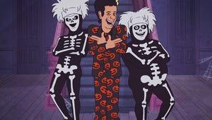 Watch SNL's David S. Pumpkins Halloween Special Here
