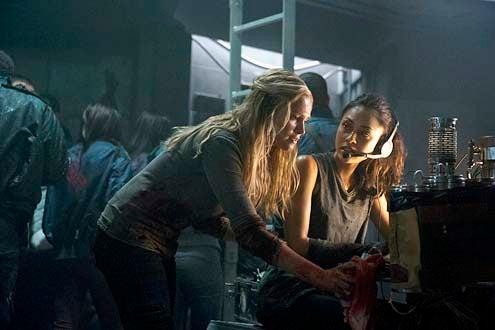 "The 100 - Season 1 - ""Contents Under Pressure"" - Eliza Taylor and Lindsey Morgan"