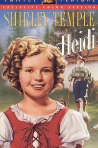 Heidi as Klara Sesemann