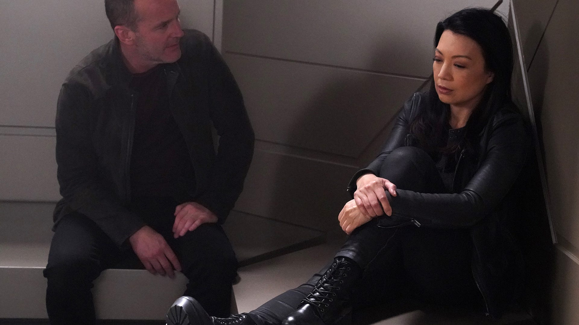 Clark Gregg and Ming Na Wen, Marvel's Agents of S.H.I.E.L.D.