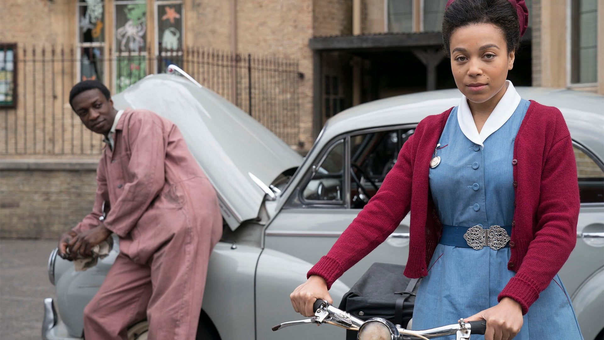 Zephryn Taitte and Leonie Elliott, Call the Midwife