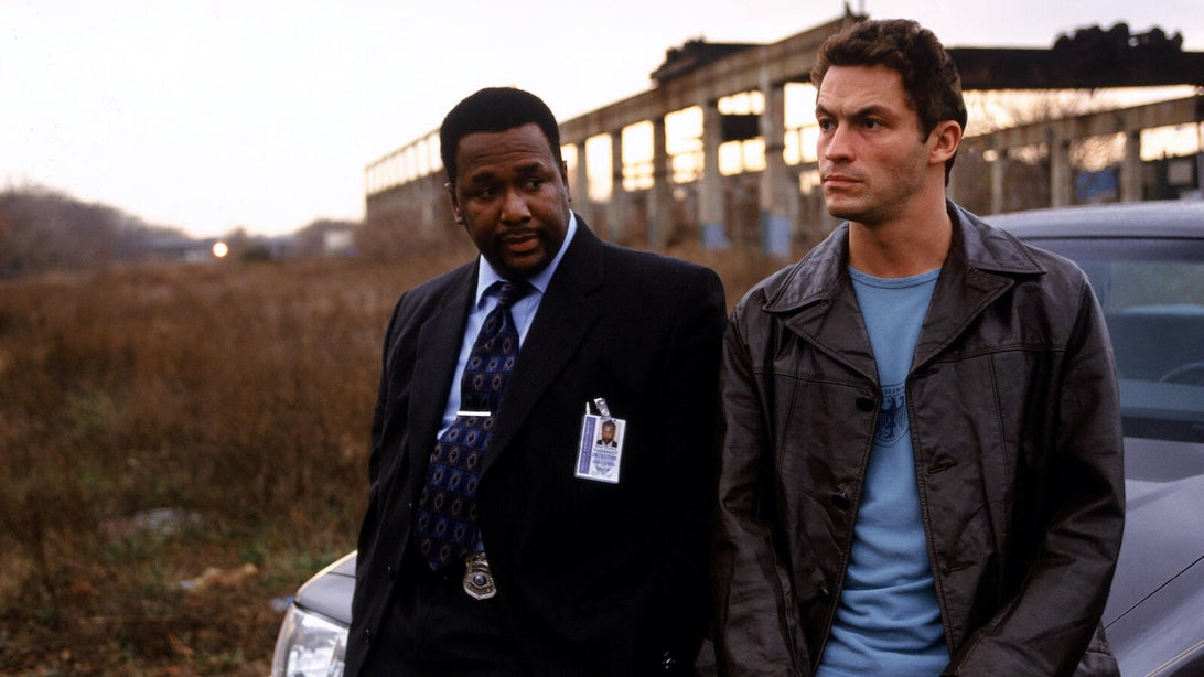 Wendell Pierce and Dominic West, The Wire
