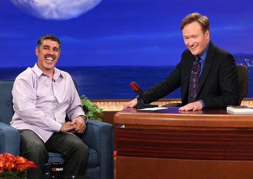 """Conan - Season 1 - Gary """"Baba Booey"""" Dell'Abate and Conan O'Brien"""