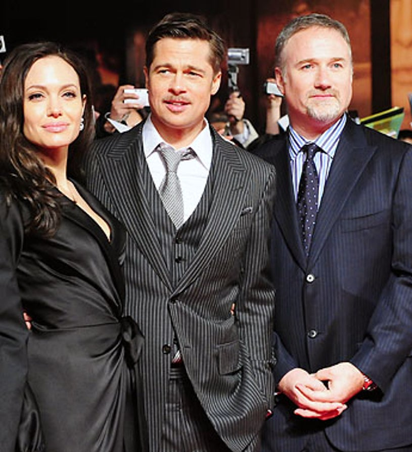 """Brad Pit, Angelina Jolie and director David Fincher - """"The Curious Case of Benjamin Button"""" Japan premiere, January 29, 2009"""
