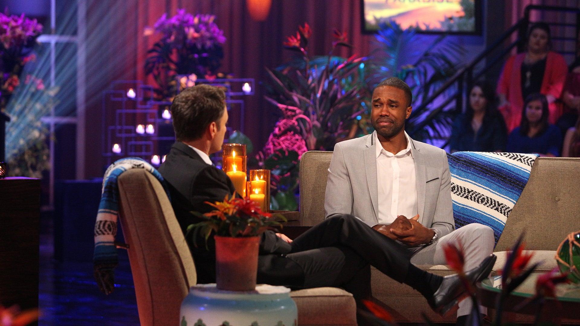 Chris Harrison and DeMario Jackson, Bachelor in Paradise
