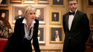 So Suave! Get Your First Look at Sharon Stone on Agent X
