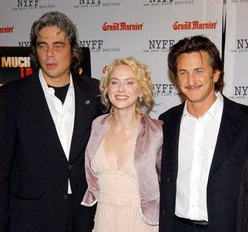 """Benicio Del Toro, Naomi Watts and Sean Penn - The 41st Annual New York Film Festival """"21 Grams"""" premiere, October 19, 2003"""