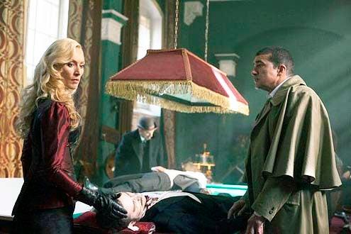"Dracula - Season 1 - ""Through The Lens Darkly"" - Victoria Smurfit, Alastair Mackenzie and Tamer Hassan"