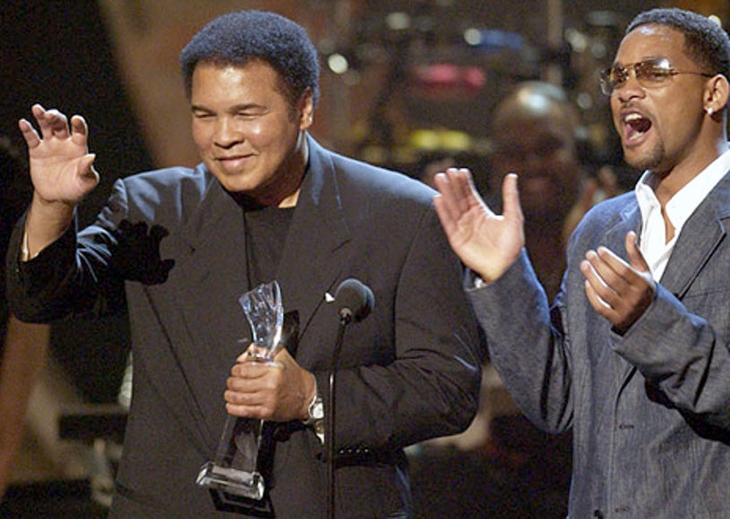 Muhammad Ali and Will Smith - The 2nd Annual BET Awards, June 25, 2002