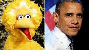 Obama vs. Big Bird: Sesame Street Upset By Campaign Ad