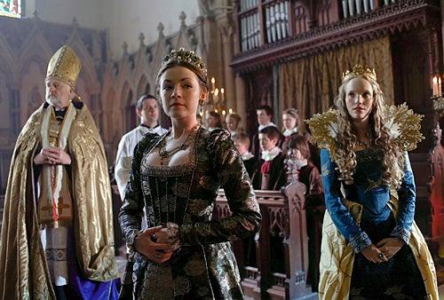 The Tudors - Season 4 - Episode 3 - Sarah Bolger as Mary Tudor and Tamzin Merchant as Katherine Howard