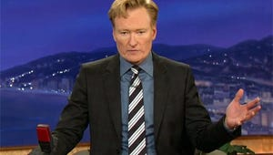 VIDEO: Conan O'Brien Breaks News of Robin Williams' Death During Show