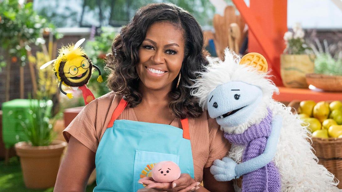 Michelle Obama, Waffles + Mochi