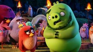 Angry Birds Movie Tops Captain America