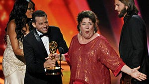 Emmy Ratings Fall, Sacked by Football