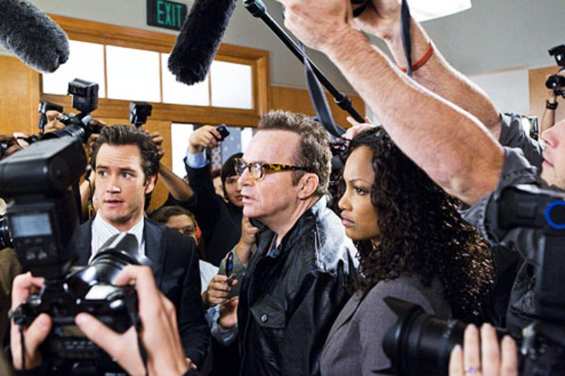 "Franklin & Bash - Season 1 - ""You Can't Take it With You""- Mark-Paul Gosselaar, Tom Arnold and Garcelle Beauvais"