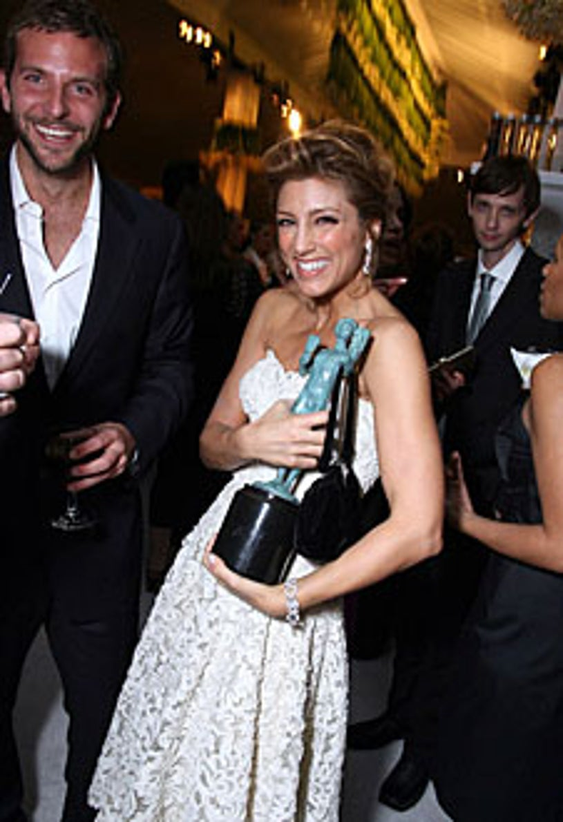 Bradley Cooper, Jennifer Esposito and D.J. Qualls - The 12th Annual Screen Actors Guild Awards official after party, January 29, 2006
