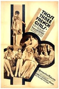 Those Three French Girls as Yank