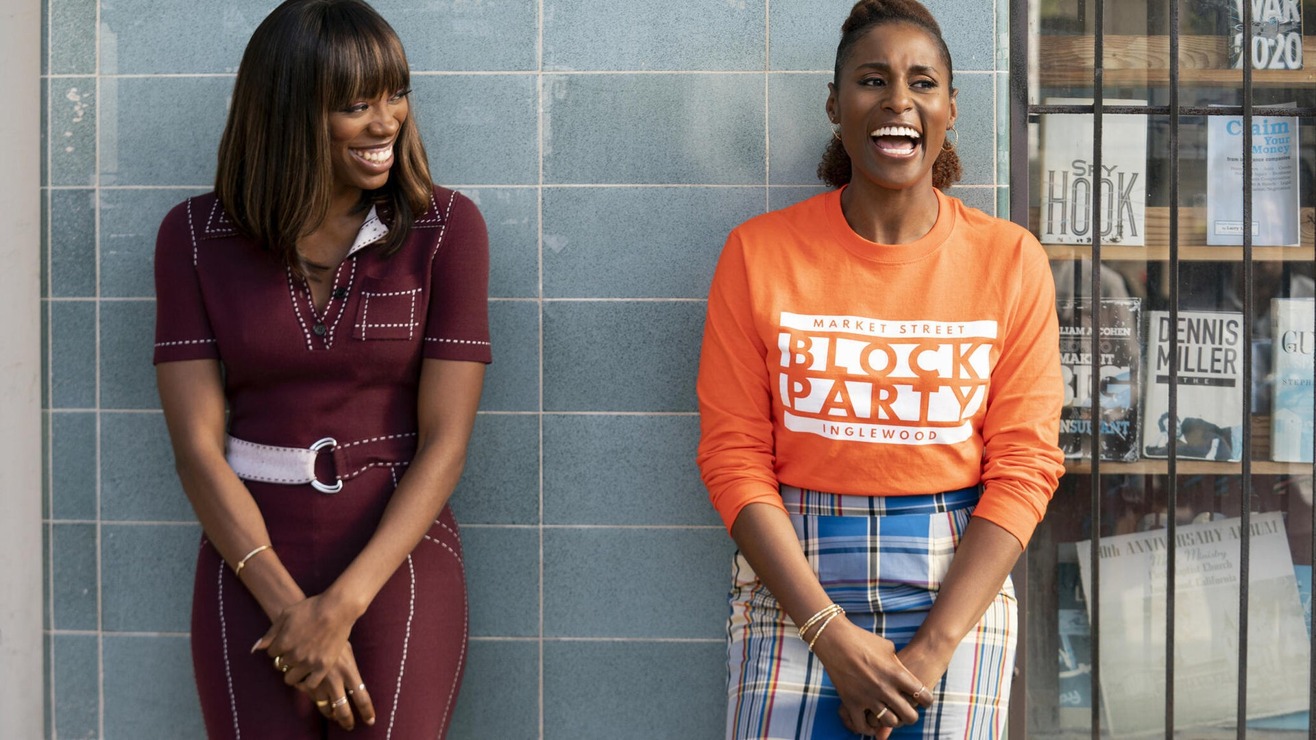 Yvonne Orji and Issa Rae, Insecure