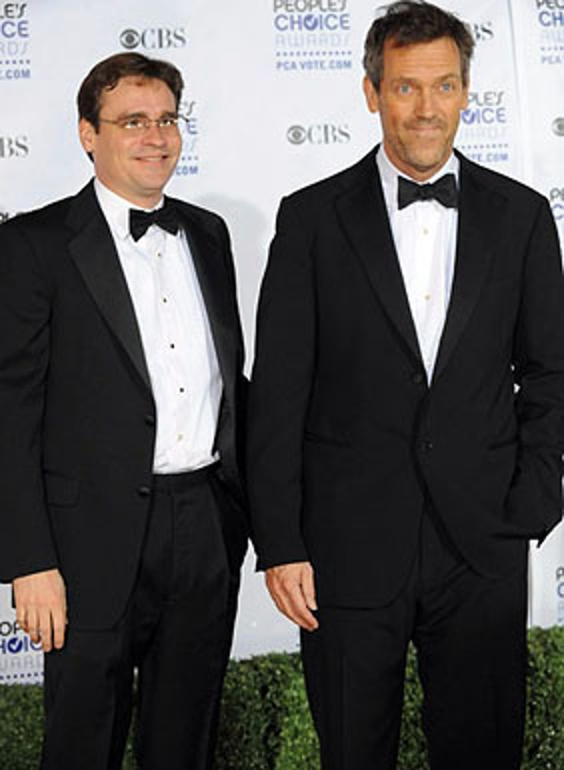 Robert Sean Leonard and Hugh Laurie - The 35th Annual People's Choice Awards in Los Angeles, January 7, 2009