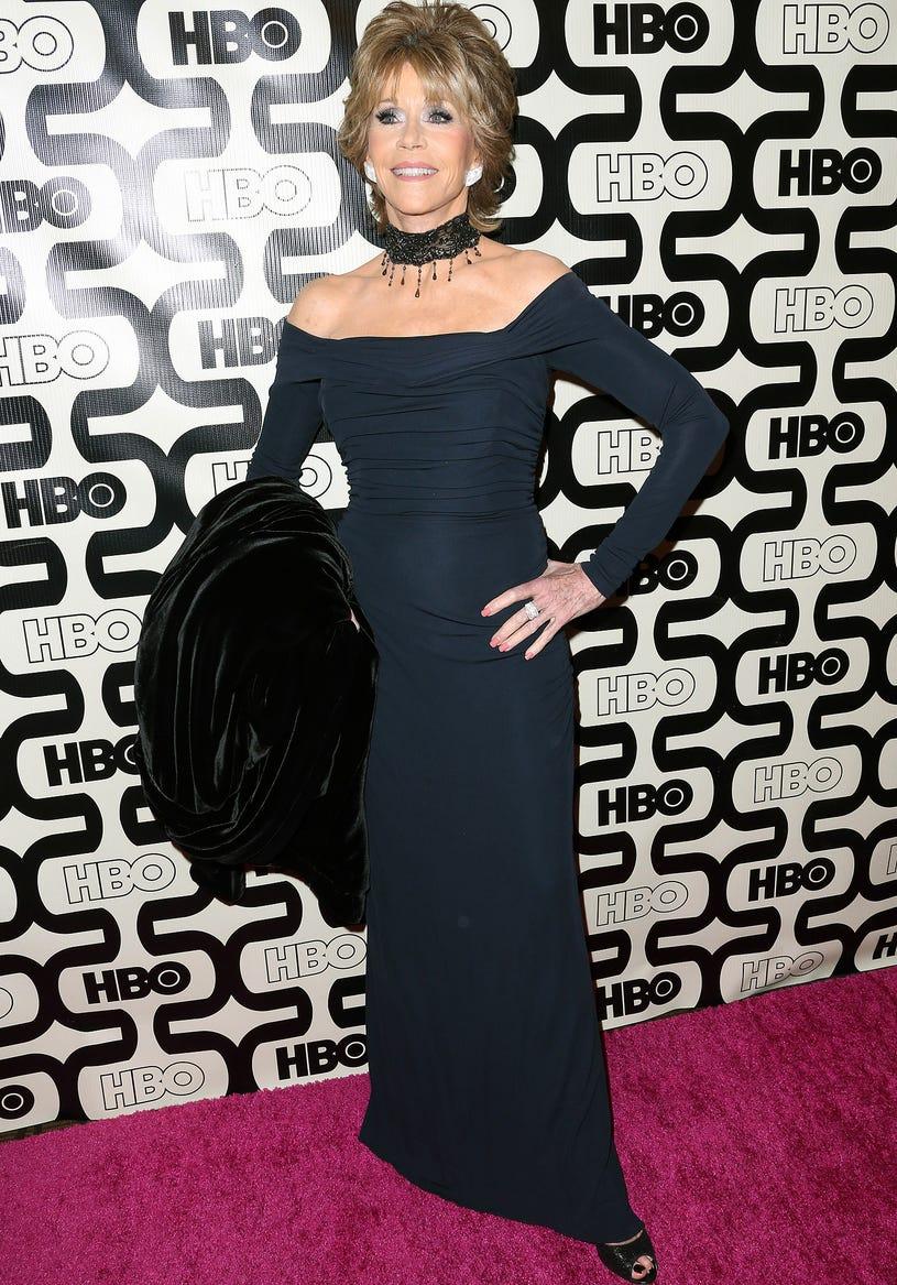 Jane Fonda - HBO's Post 2013 Golden Globe Awards Party in Beverly Hills, California, January 13, 2013
