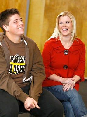 The Biggest Loser - Season 7 - Michael and Alison Sweeney
