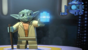 The Yoda Chronicles Takes Over Times Square With Giant LEGO Star Wars Model