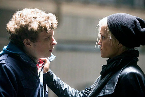"Continuum - Season 2 - ""Second Wave"" - Erik Knudsen and Luvia Petersen"