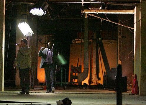 "Numb3rs - Season 6 - ""Hangman"" - Dylan Bruno, Alimi Ballard"