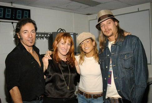 Bruce Springsteen, Patti Scialfa, Sheryl Crow and Kid Rock - Grammy Awards, Feb. 2003