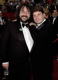 Peter Jackson & Sean Astin - 74th Annual Academy Awards