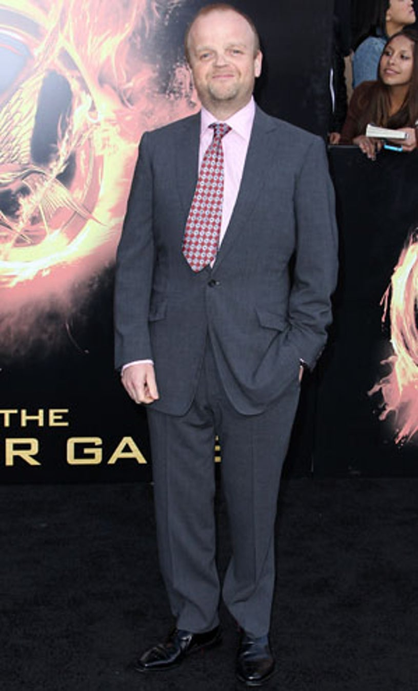 """Toby Jones - """"The Hunger Games"""" Los Angeles premiere, March 12, 2012"""