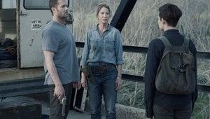 Jenna Elfman on the Fear the Walking Dead Midseason Premiere's Stinky Fish and Flying Walkers